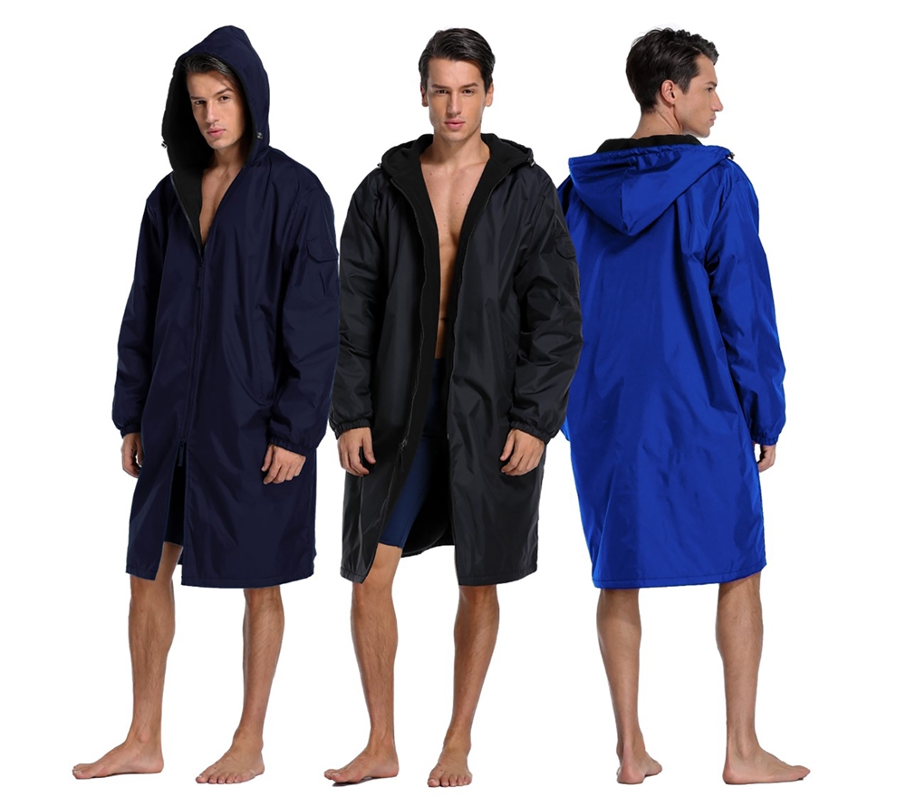 Adoretex Solid Swim Parka At Sunwavesportscom